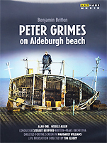 『PETER GRIMES on Aldeburgh beach』